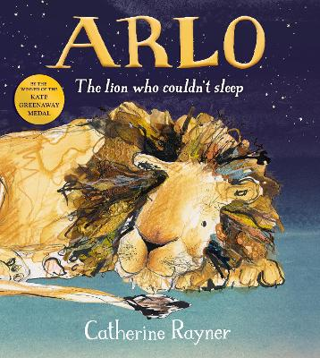 Arlo The Lion Who Couldn't Sleep book
