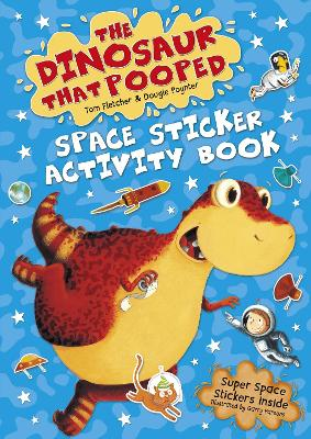 Dinosaur that Pooped Space book