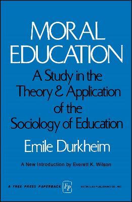 MORAL EDUCATION book