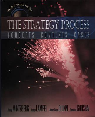 Strategy Process (Global Edition) by Henry Mintzberg