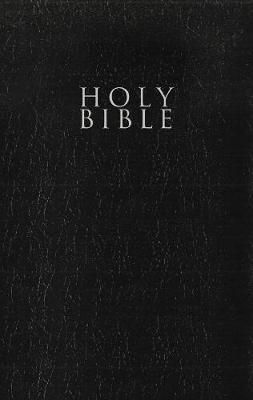 NRSV, Gift and Award Bible, Leather-Look, Black, Comfort Print by Zondervan