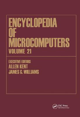 Encyclopedia of Microcomputers book