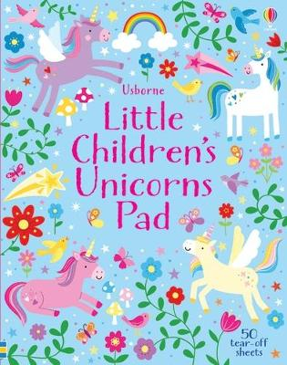 Little Children's Unicorns Pad by Kirsteen Robson