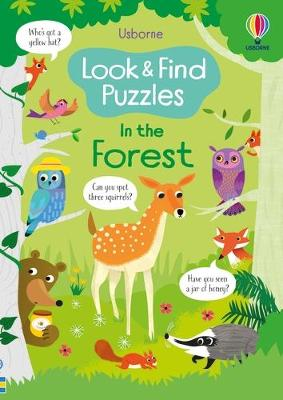 Look and Find Puzzles: In the Forest by Kirsteen Robson