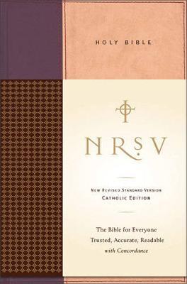 NRSV Holy Bible Catholic Anglicised book