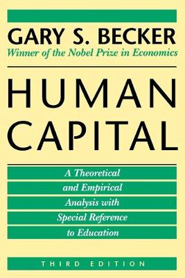 Human Capital by Gary S. Becker
