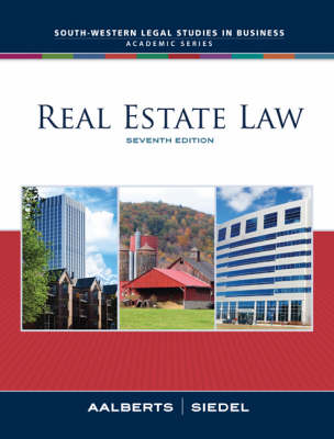 Real Estate Law by Robert J. Aalberts