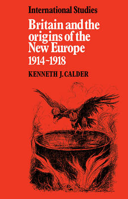 Britain and the Origins of the New Europe 1914-1918 book