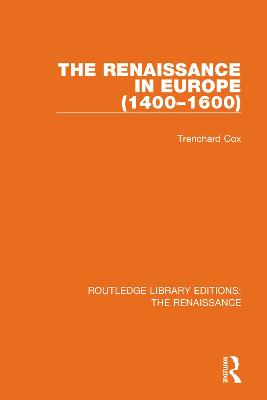 The Renaissance in Europe book