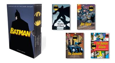 Batman: Chronicles of the Dark Knight: (4 hardcover, illustrated books) by Matthew K. Manning