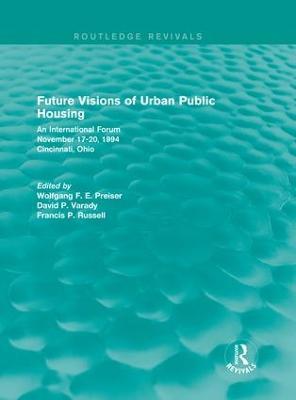 Future Visions of Urban Public Housing book