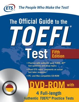 The Official Guide to the TOEFL Test with DVD-ROM, Fifth Edition by Educational Testing Service