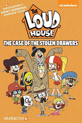 The Loud House #12: The Case of the Stolen Drawers by The Loud House Creative Team