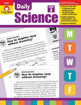 Daily Science Grade 3 by Evan-Moor Educational Publishers