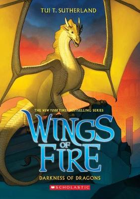Wings of Fire #10: Darkness of Dragons book