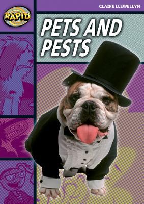 Rapid Stage 1 Set B: Pets and Pests (Series 2) by Claire Llewellyn
