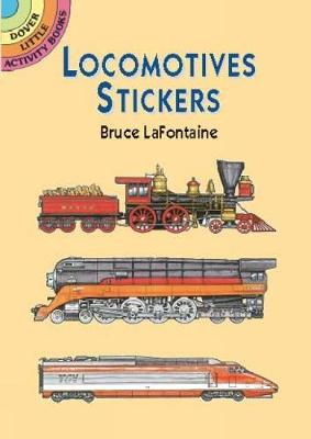 Locomotives Stickers by Bruce LaFontaine