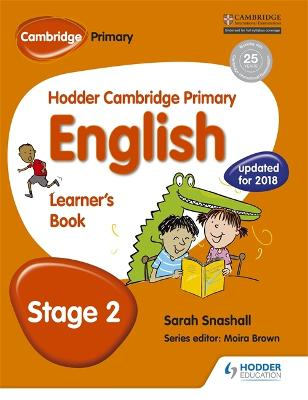 Hodder Cambridge Primary English: Learner's Book Stage 2 book