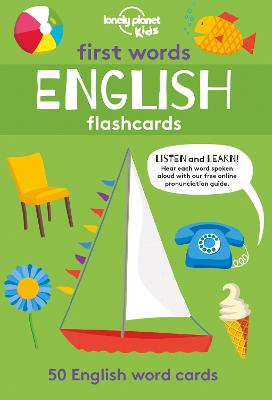 First Words - English Flashcards book