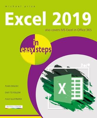 Excel 2019 in easy steps book
