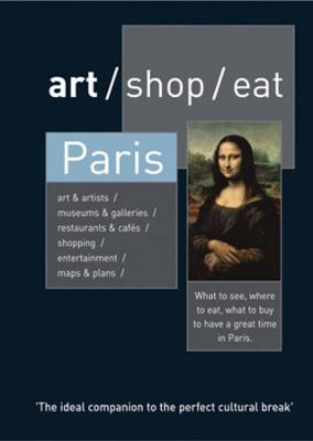 art/shop/eat Paris book