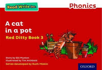 Read Write Inc. Phonics: Red Ditty Book 3 A Cat in a Pot book