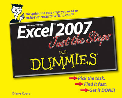 Excel 2007 Just the Steps For Dummies book