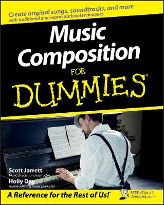 Music Composition for Dummies by Scott Jarrett
