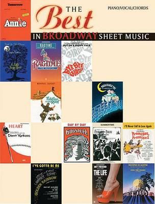 The Best in Broadway Sheet Music by Sy Feldman