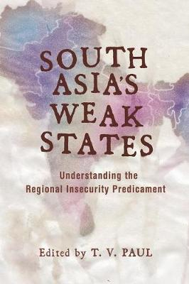 South Asia's Weak States book