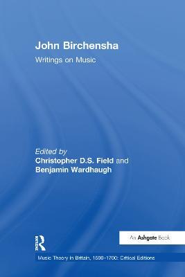 John Birchensha: Writings on Music book
