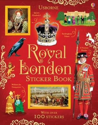 Royal London Sticker Book by Struan Reid