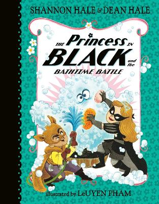 The Princess in Black and the Bathtime Battle book