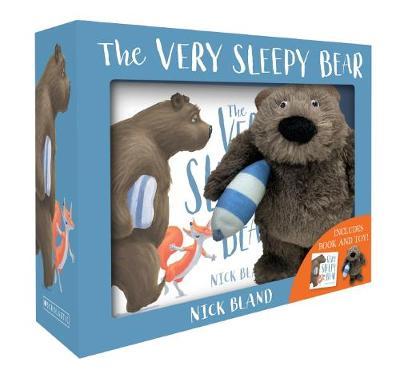 Very Sleepy Bear Plush Box Set by Nick Bland