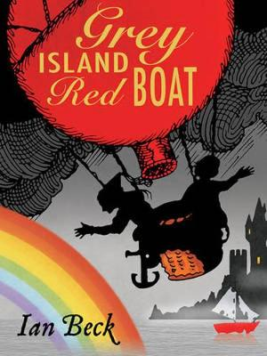 Grey Island, Red Boat by Ian Beck