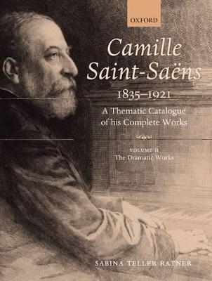 Camille Saint-Saens 1835-1921 by Sabina Teller Ratner