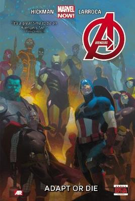 Avengers Volume 5: Adapt Or Die (marvel Now) by Salvador Larroca