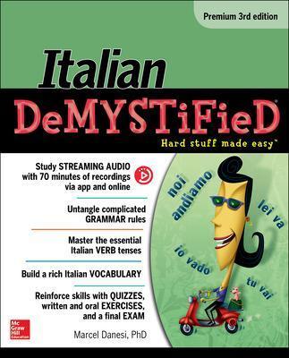 Italian Demystified, Premium by Marcel Danesi