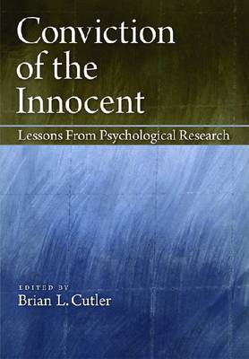 Conviction of the Innocent by Brian L. Cutler