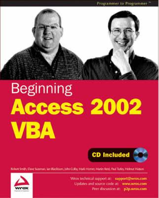Beginning Access 2002 VBA by Dave Sussman