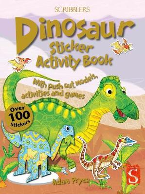 Dinosaur Sticker Activity Book by Adam Pryce