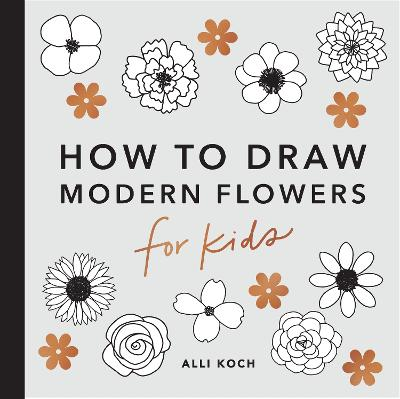 How to Draw Modern Florals for Kids book