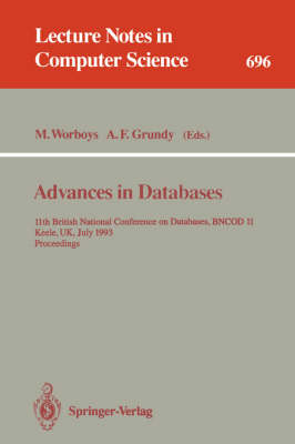 Advances in Databases by Michael F. Worboys