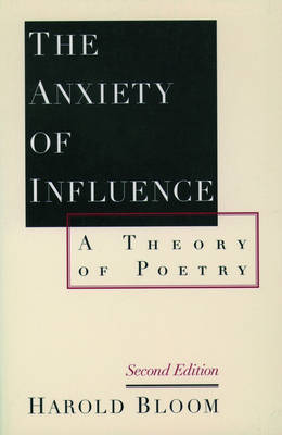 Anxiety of Influence book