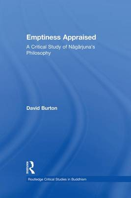 Emptiness Appraised by David F. Burton