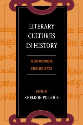 Literary Cultures in History book