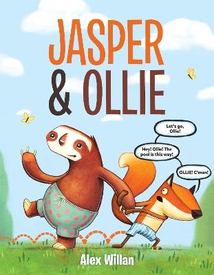 Jasper and Ollie by Alex Willan