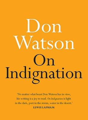 On Indignation book