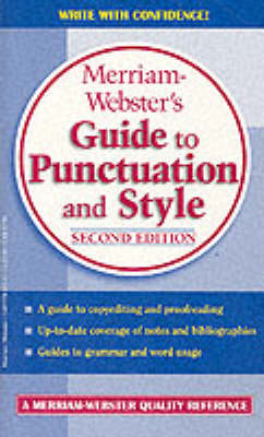 Guide to Punctuation and Style by Merriam-Webster