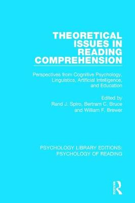 Theoretical Issues in Reading Comprehension book